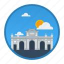 big city, city, madrid, place, population, spain, world icon