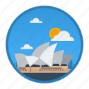 australia, big city, city, place, sydney, world, world city icon
