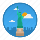 big city, city, new york, ny, place, usa, world icon