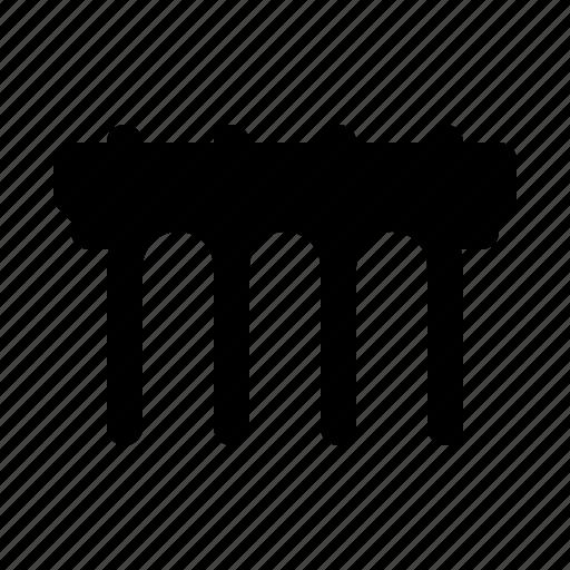 bridge, city, locations, map, town icon
