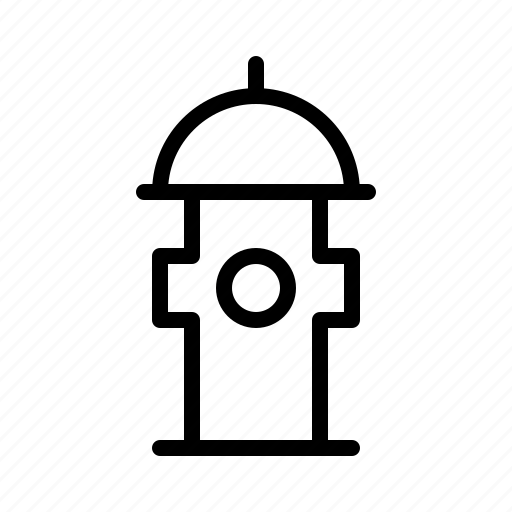 city, fire, hydrant, locations, map, town icon