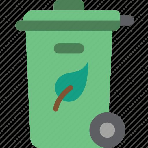 amenities, bin, city, council, garden, services, waste icon