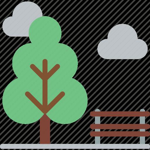 amenities, city, council, park, services icon