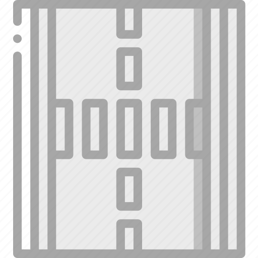 amenities, city, council, markings, road, services icon