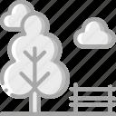 amenities, council, park, services icon