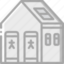 amenities, city, council, services, toilets icon
