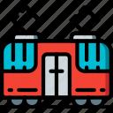 amenities, city, council, public, services, tram, transport icon