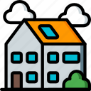 amenities, city, council, family, house, housing, services icon