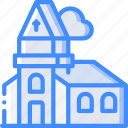 amenities, church, city, council, religion, services, worship icon