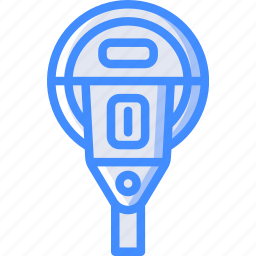 amenities, city, council, meter, parking, services icon
