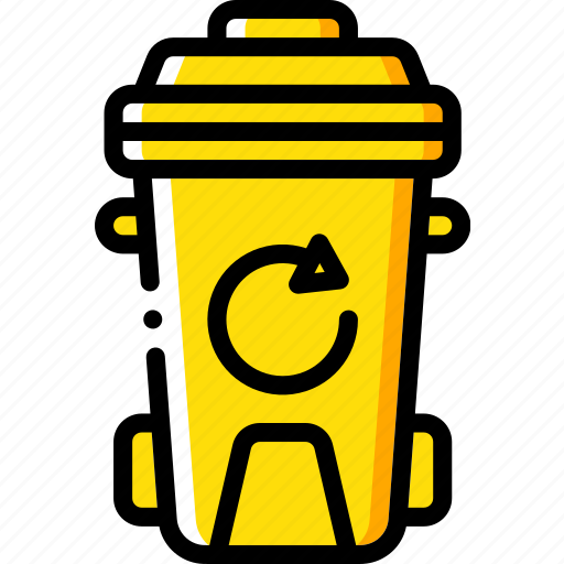 amenities, bin, council, ity, recycle, rubbish, services icon