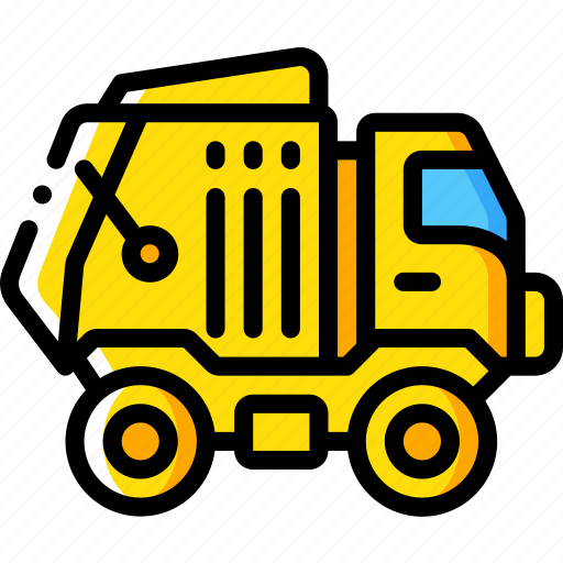 amenities, bin, city, council, lorry, services icon