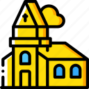amenities, church, city, council, religion, services, worship icon