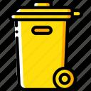 amenities, bin, city, council, rubbish, services, trash icon
