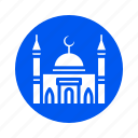 building, city, mosque, property icon