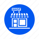 building, city, property, shop icon