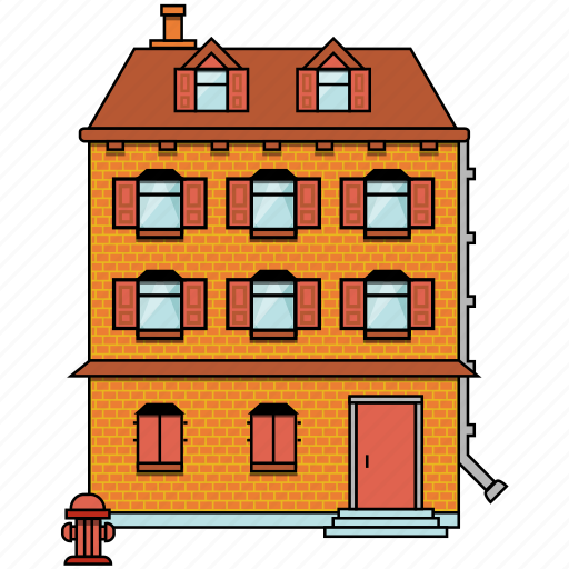 building, construction, estate, house, property, real, real estate icon