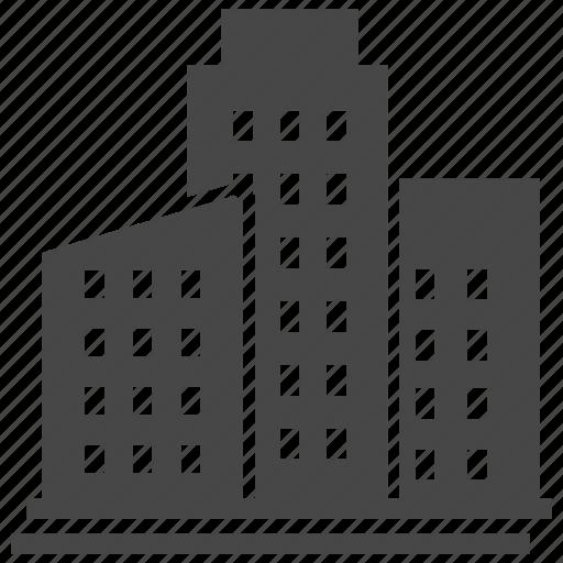 building, city, element, town, urban icon