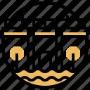barrage, dam, hydroelectric, reservoir, water icon