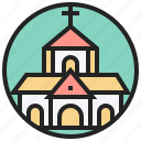 architecture, cathedral, catholic, chapel, church icon