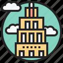 building, business, company, metropolis, skyscraper icon