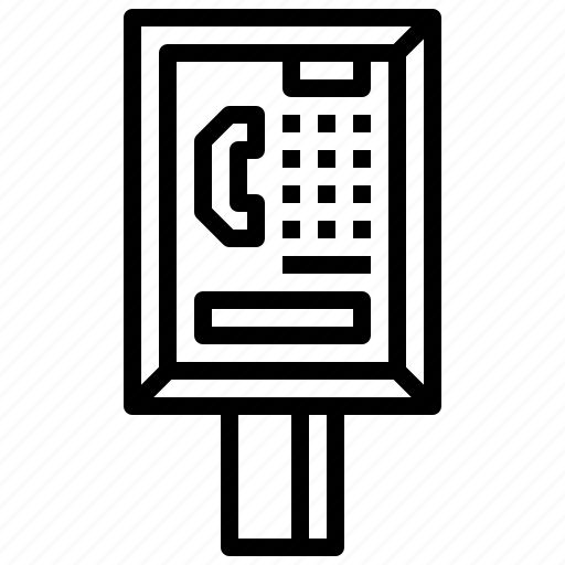 booth, call, communication, phone, technology, telephone icon