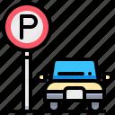 car, park, parking, transport, transportation icon