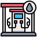 filling, gas, oil, station, water icon