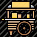 cart, food, transport, transportation icon