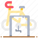 bicycle, parking, transport, transportation icon