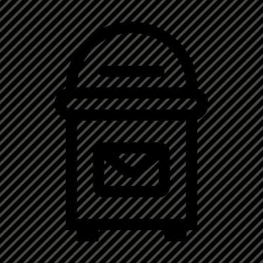 box, city, element, mail, postage, postbox, urban icon