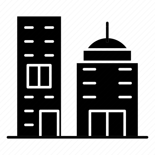 apartments, building, city, tower icon