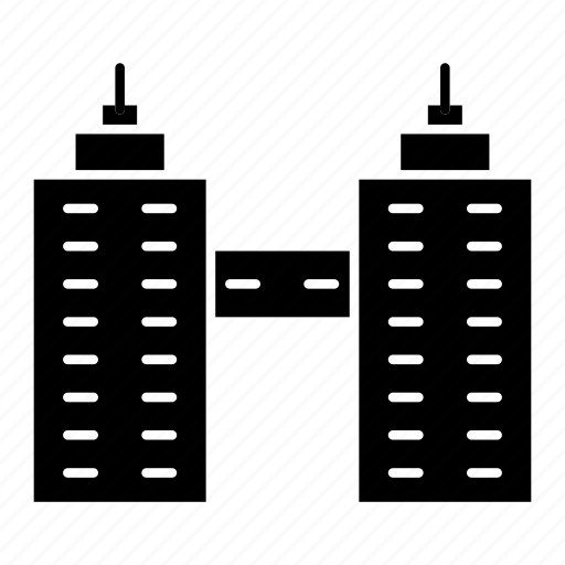buildings, city, office, tower icon