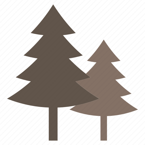 evergreen tree, fir tree, pine tree, tree, xmas tree icon