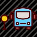 bus, journey, public bus, tourism, travel icon