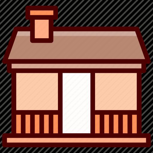 bungalow, cabin, cottage, house, villa icon