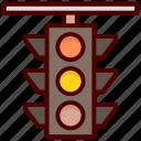 traffic lamps, signal lights, traffic lights, traffic signals, traffic semaphore icon