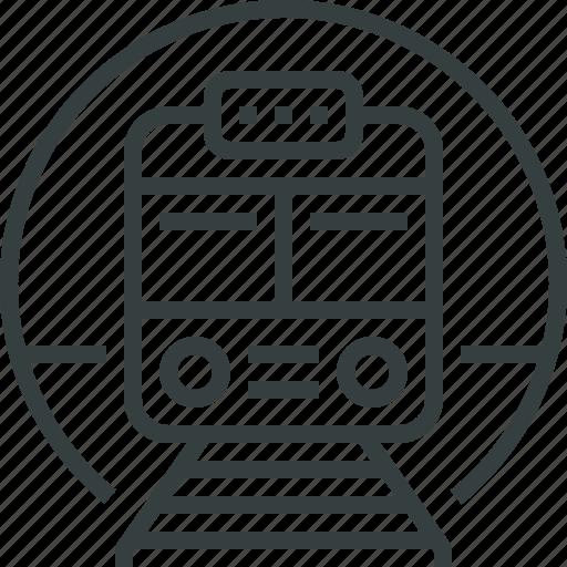 sign, subway icon