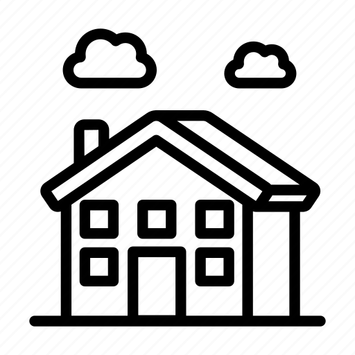 Building, city, country, home, house, street, village icon - Download on Iconfinder