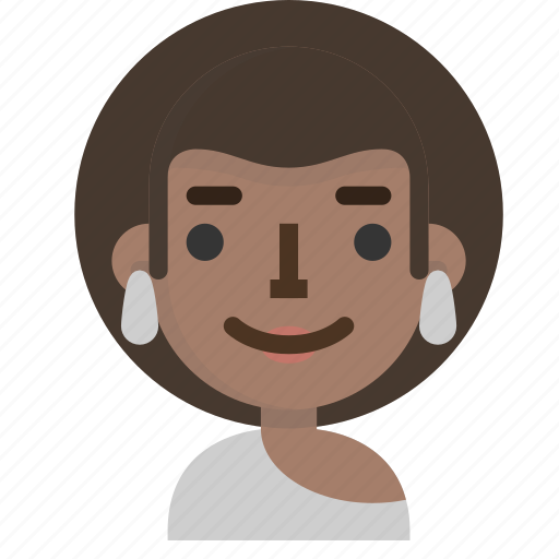 avatar, emoji, emoticon, face, people, user, woman icon