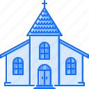 architecture, building, chapel, church, cross, god, religion icon
