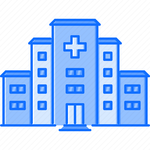 architecture, building, doctor, hospital, treatment icon