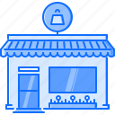 architecture, building, market, purchase, shop, store icon