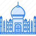 architecture, building, india, mahal, sight, taj icon
