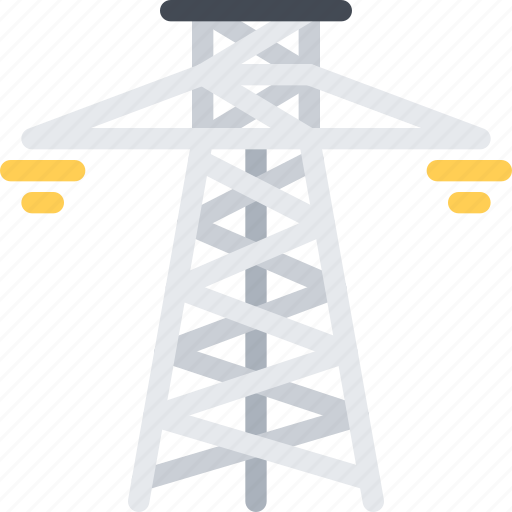 architect, architecture, build, building, city, electric, tower icon