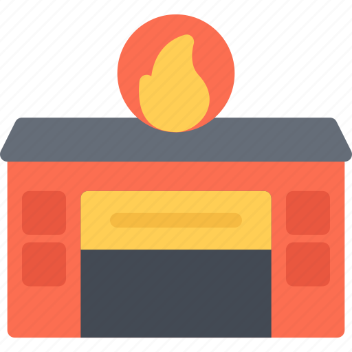 architect, architecture, build, building, city, firefighters icon