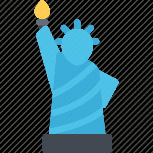 architect, architecture, build, building, city, liberty, statue icon