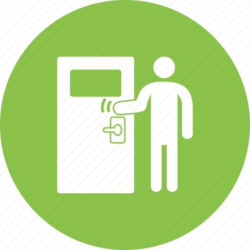 Business, delivery, door, knock, knocking, work, working icon - Download on Iconfinder