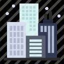 building, city, life icon