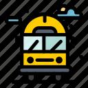 bus, city, life, van